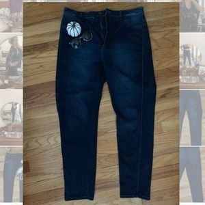 Fashion Nova Ultra High Waist Skinny Stretch Jeans